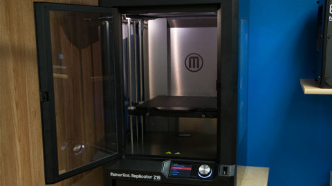 MakerBot Replicator Z18 door open