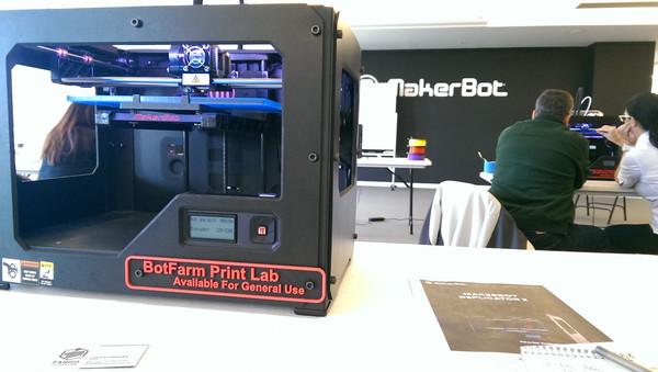MakerBot training bot