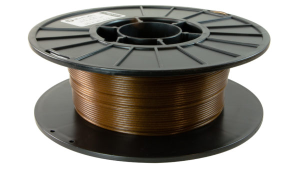 3D-Fuel 1.75mm Wound Up Coffee Filament spool horizontal