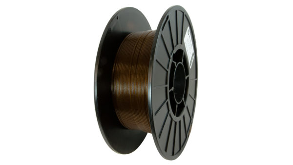 3D-Fuel 1.75mm Wound Up Coffee Filament spool vertical
