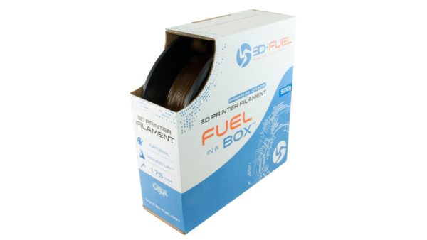 3D-Fuel 1.75mm Wound Up Coffee Filament spool box