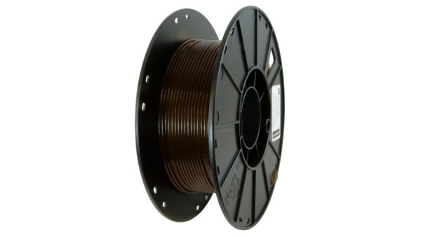 3D-Fuel 2.85mm Wound Up Coffee Filament spool vertical