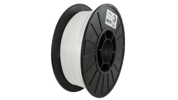 1.75mm white PLA filament - Schark Parts b