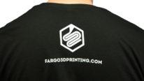 official fargo 3d printing t-shirt back