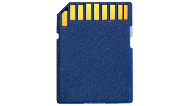 schark 1GB SD card for Makerbot back view