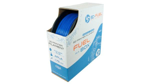 3D-Fuel 1.75mm Nuclear Blue APLA spool box