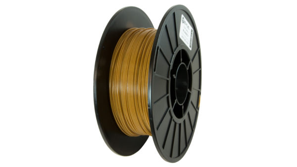 3D-Fuel 1.75mm Buzzed Beer Filament spool vertical
