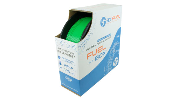 3D-Fuel 1.75mm Afterburner Green APLA spool box