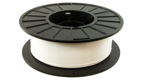 3D-Fuel 1.75mm Arctic White APLA spool horizontal