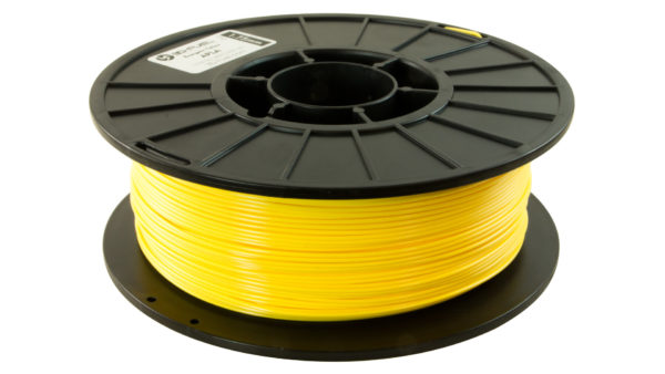 3D-Fuel 1.75mm Energetic Yellow APLA spool horizontal