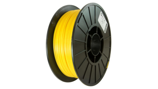 3D-Fuel 1.75mm Energetic Yellow APLA spool vertical