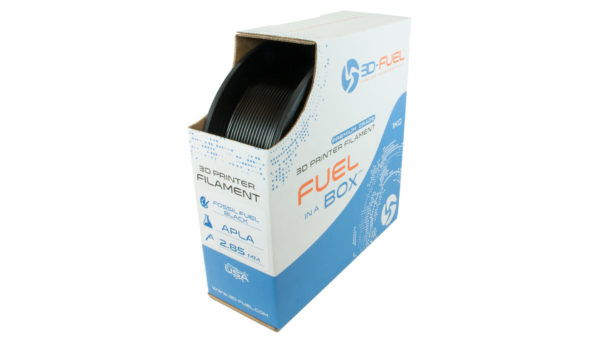 3D-Fuel 2.85mm Fossil Fuel Black APLA spool box
