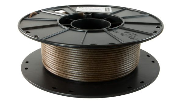 3D-Fuel 2.85mm Entwined Hemp Filament spool horizontal