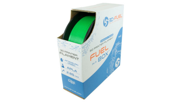 3D-Fuel 2.85mm Afterburner Green APLA spool box