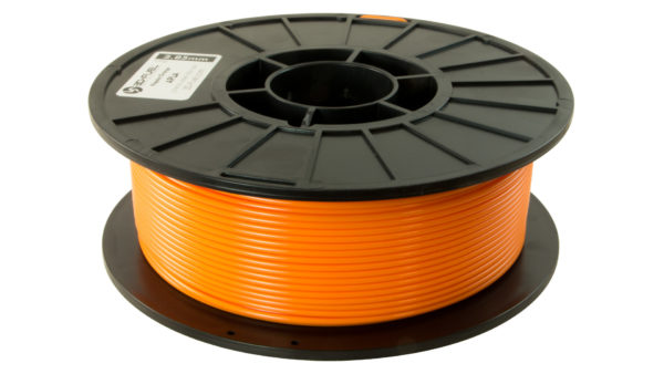3D-Fuel 2.85mm Napalm Orange APLA spool horizontal