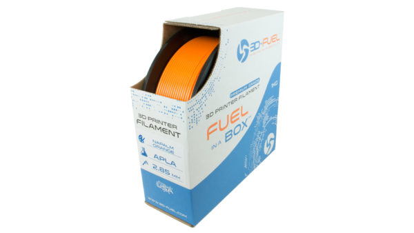3D-Fuel Tangerine Orange Pro PLA in Box
