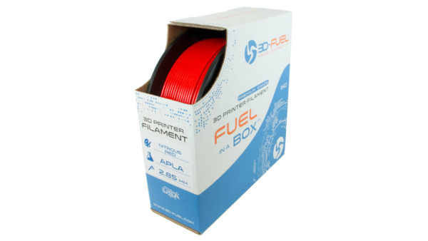 3D-Fuel 2.85mm Nitrous Red APLA spool box