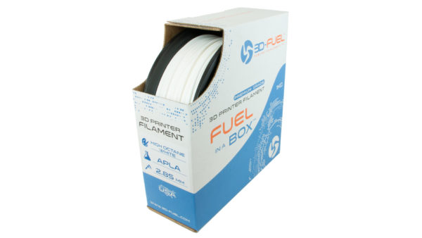 3D-Fuel 2.85mm Arctic White APLA spool box