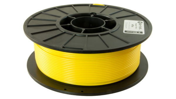 3D-Fuel 2.85mm Energetic Yellow APLA spool horizontal