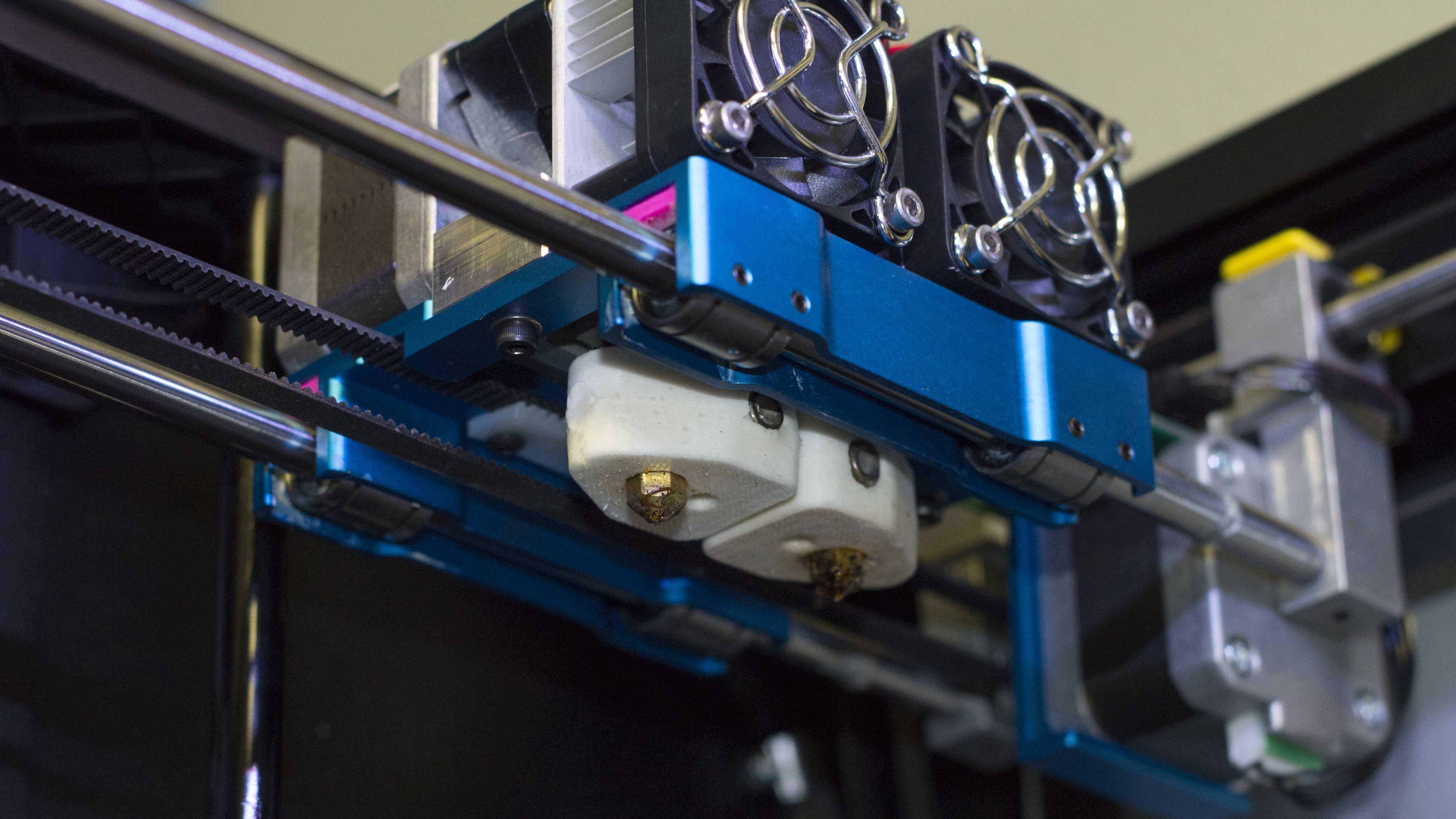 Makerbot Replicator 2x Aluminum Dual Extruder Carriage Fargo 3d Printing