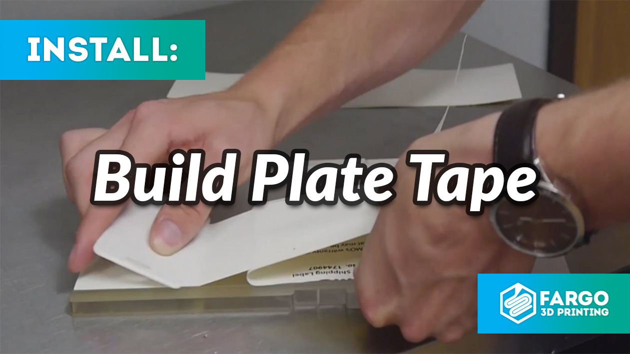 how to build plate tape
