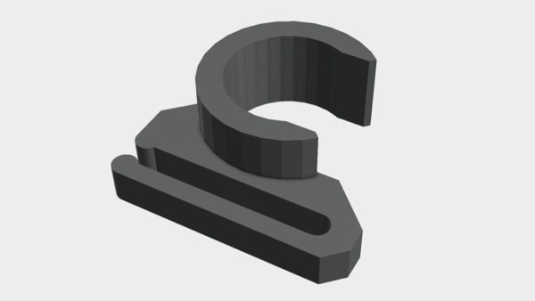 Prusa LCD Cable Clip