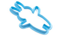 Bunny Cookie Cutter Angled