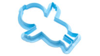 Ducky Cookie Cutter Angled