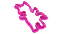 Unicorn Cookie Cutter Side