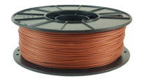 metallic copper pla filament reel