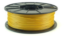 metallic gold pla filament reel