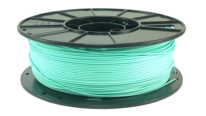aquamarine pla 3d printer filament spool