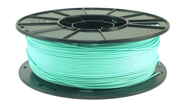 aquamarine pla 3d printer filament spool