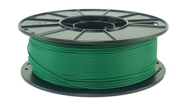 forest green pla 3d printer filament spool