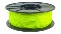 lulzbot green pla 3d printer filament spool