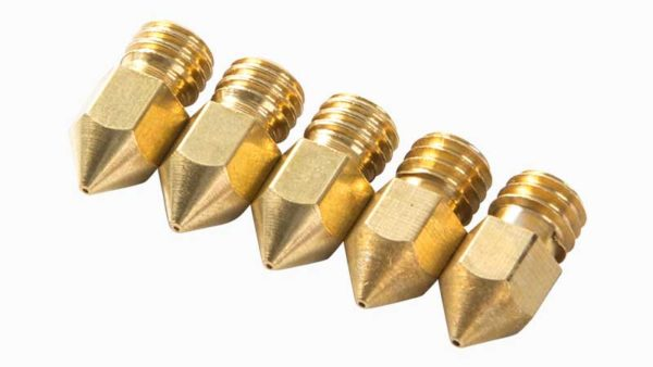 creality brass nozzle 0.4 mm 5-pack 3